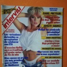 Coleccionismo de Revista Interviú: INTERVIÚ Nº 700 ESPECIAL. SAMANTHA FOX, PRIMER DESNUDO INTEGRAL.AINCLUYE EXTRA 1993, EL AÑO DE RESAC. Lote 145756862