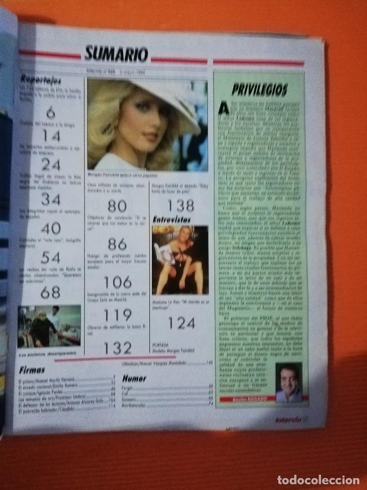 Coleccionismo de Revista Interviú: INTERVIÚ Nº 625. MORGAN FAIRCHILD (PORTADA) AL DESNUDO. INCLUYE LIBRO EDUCACIÓN SEXUAL - Foto 6 - 145834186