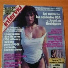 Coleccionismo de Revista Interviú: INTERVIÚ Nº 729. SABRINA (PORTADA), ÁNGELA CAVAGNA Y SAMANTHA FOX DAN EL DO DE PECHO. Lote 146129610