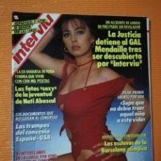 Coleccionismo de Revista Interviú: INTERVIÚ Nº 667. MARIA ROSARIA OMAGGIO (PORTADA), NUEVO AMOR DE PEDRO RUÍZ, DESNUDA. Lote 146133406