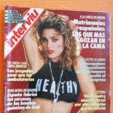 Colecionismo da Revista Interviú: INTERVIÚ Nº 624. MADONNA (PORTADA) EL DRAMA: SI ME CORTAN UN PECHO ME SUICIDO. Lote 146383274