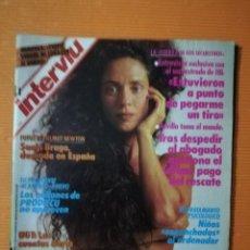 Coleccionismo de Revista Interviú: INTERVIÚ Nº 653. SONIA BRAGA (PORTADA) DESNUDA EN ESPAÑA. FOTOS DE HELMUT NEWTON. Lote 146424570