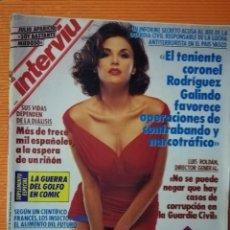 Coleccionismo de Revista Interviú: INTERVIÚ Nº 775. SHERILYN FENN (PORTADA), PROTAGONISTA DE TWIN PEAKS, DESNUDA. Lote 204737612
