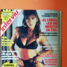 Coleccionismo de Revista Interviú: INTERVIÚ Nº 658. SABRINA (PORTADA) POR FIN, TOTALMENTE DESNUDA. Lote 146556054