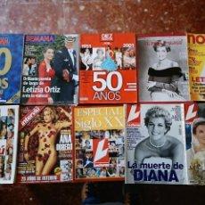 Collectionnisme de Magazine Interviú: 10 REVISTAS VARIADAS INTERVIÚ, LECTRURAS, DIEZ MINUTOS, SEMANA, EL PAÍS, LECTURAS.. Lote 146792938