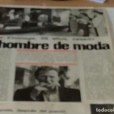 Coleccionismo de Revista Interviú: XABIER ELORRIAGA EN 1980 EN RECORTE (R4554) 1 PÁGINA REVISTA INTERVIU DE ESE AÑO. Lote 147043122