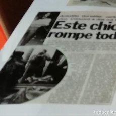 Coleccionismo de Revista Interviú: 1980: ANTONIO GONZÁLEZ, ANTOÑITO ENTONCES,EN RECORTE (R4555) 1 PÁGINA REVISTA INTERVIU ESE AÑO. Lote 147043530