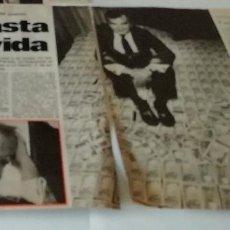 Coleccionismo de Revista Interviú: ANTONIO LARRETA EN 1980 EN RECORTE (R4556) 2 PÁGINAS REVISTA INTERVIU DE ESE MISMO AÑO. Lote 147044282