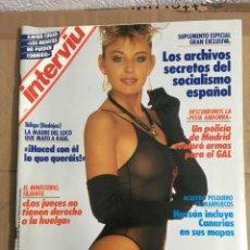 Coleccionismo de Revista Interviú: REVISTA INTERVIU Nº 618 MARZO 1988 XAVIER CUGAT TALIGA GAL IRA GIBRALTAR. Lote 147497402