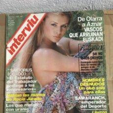 Coleccionismo de Revista Interviú: REVISTA INTERVIU Nº 167 JULIO 1979 OLARRA AZNAR SARTORIUS CCOO ROCIO JURADO DENISE. Lote 147508590