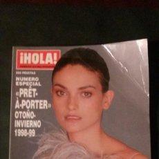 Coleccionismo de Revista Interviú: HOLA-EXTRAORDINARIO MODA-OTOÑO-INVIERNO 1998-1999-LAURA PONTE- 254 PAGINAS. Lote 147530742