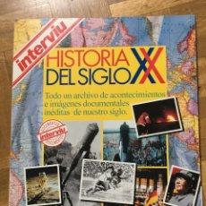 Coleccionismo de Revista Interviú: HISTORIA SIGLO XX. Lote 147580586