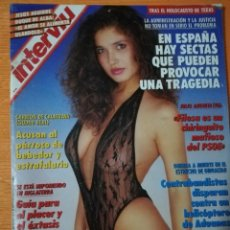 Coleccionismo de Revista Interviú: INTERVIÚ Nº 887. GLORIA TREVI (PORTADA), FOTOS DEL ESCÁNDALO. Lote 149519966
