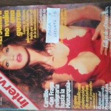 Coleccionismo de Revista Interviú: REVISTA INTERVIU 357 * MISS DESNUDA 1983 + FRAGA + CARRILLO * 52. Lote 149600326