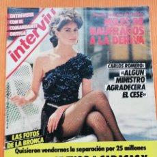 Coleccionismo de Revista Interviú - INTERVIÚ Nº 477. MERCEDES LICER (PORTADA) BRONCA CON GONZALO DE BORBÓN - 149609858