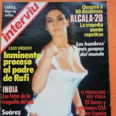 Colecionismo da Revista Interviú: INTERVIÚ Nº 448. CHARO LÓPEZ (PORTADA) HERMOSA Y ENFADADA. Lote 149704246