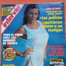 Coleccionismo de Revista Interviú: INTERVIÚ Nº 535. ANA OBREGÓN (PORTADA) DESNUDA. Lote 149718750