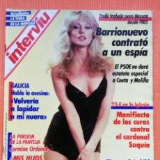 Coleccionismo de Revista Interviú: INTERVIÚ Nº 561. MORGAN FAIRCHILD (PORTADA) FUI VIOLADA A LOS 14 AÑOS. Lote 149719486