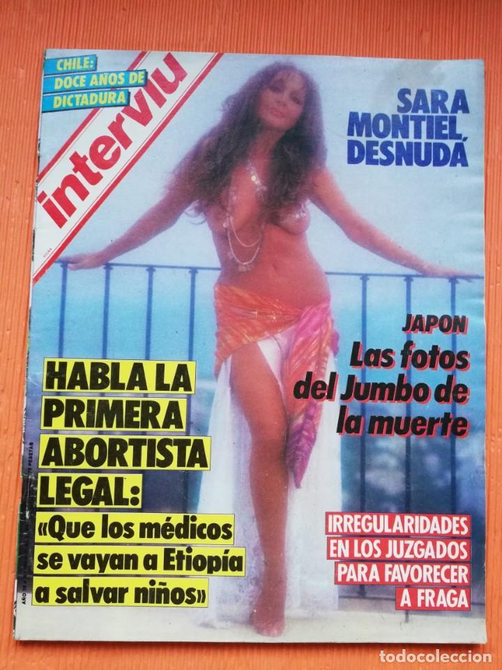 Interviú Nº 484 Sara Montiel Portada Desnuda