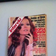 Coleccionismo de Revista Interviú: INTERVIU N 170. 1979. SOFÍA LOREN. Lote 151519981