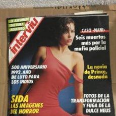 Coleccionismo de Revista Interviú: REVISTA INTERVIU Nº 543 OCTUBRE 1986 LA NOVIA DE PRINCE JACKIE ST. CLAIR. Lote 151556210