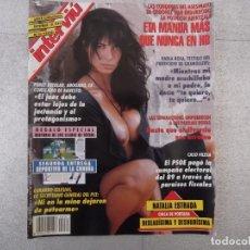 Coleccionismo de Revista Interviú: REVISTA INTERVIU 1995. NATALIA ESTRADA, ETA, CASO FILESA, EL DIVORCIO, JAVIER GURRUCHAGA, LA COLZA. Lote 151579470