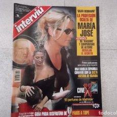 Coleccionismo de Revista Interviú: REVISTA INTERVIU 2000. MARIA JOSE GALERA, JENNIFER ROBIN LÓPEZ, NIÑA PASTORI, LIZ HURLEY. Lote 151585382