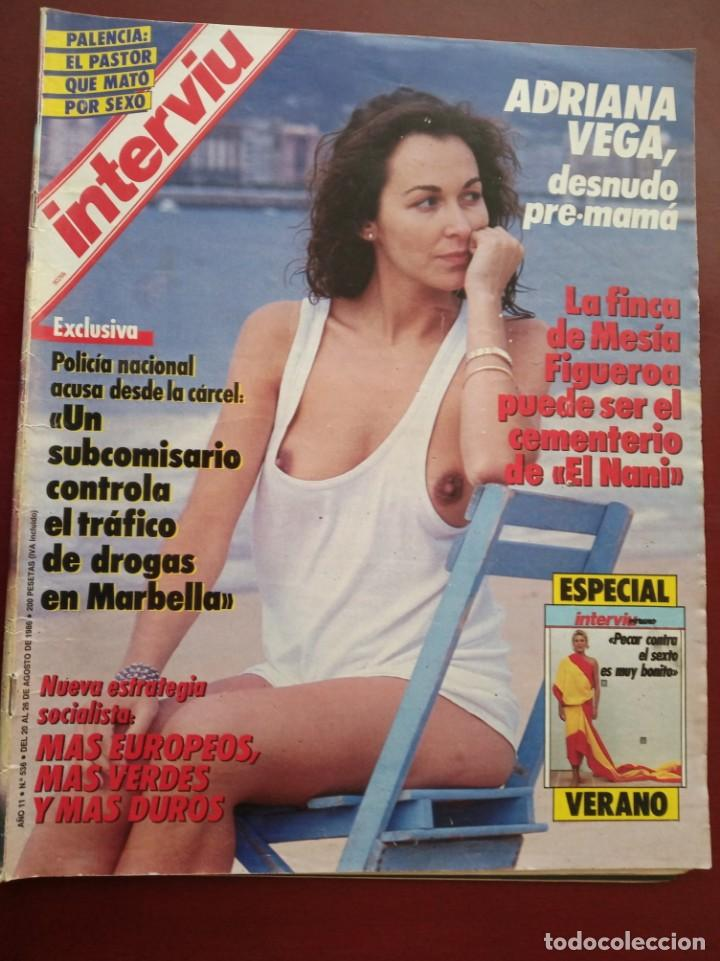 Revista Interviu Nº 536 Adriana Vega Especial Verano Carmen Cervera