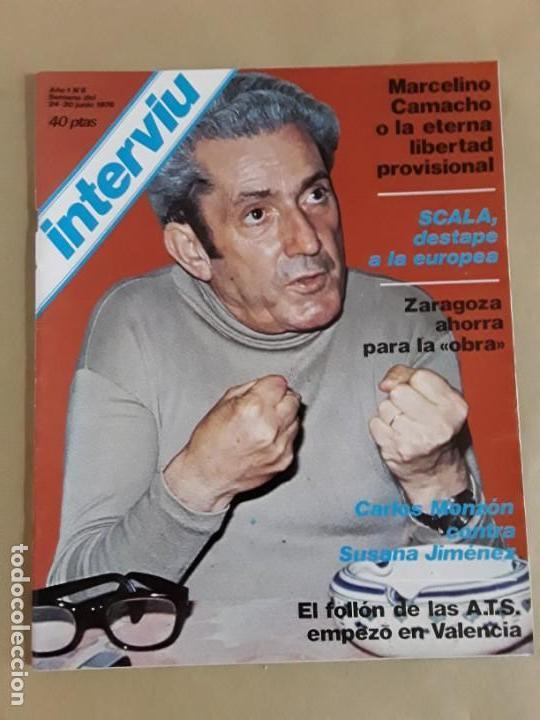 Coleccionismo de Revista Interviú: Lote revistas interviú,n°3,5,6,8,9,10,12,13,14,15,16,19,20,21,26,28,31,34,36,38,año 1976/1977 - Foto 4 - 153527282