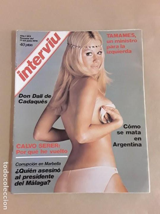 Coleccionismo de Revista Interviú: Lote revistas interviú,n°3,5,6,8,9,10,12,13,14,15,16,19,20,21,26,28,31,34,36,38,año 1976/1977 - Foto 5 - 153527282