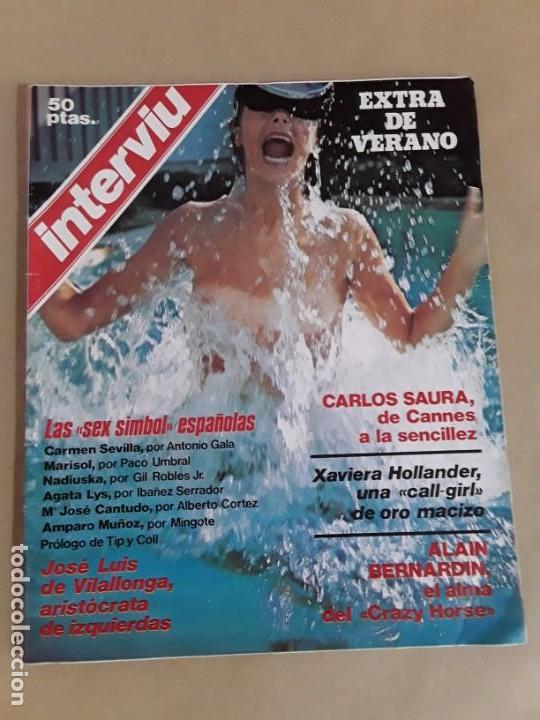 Coleccionismo de Revista Interviú: Lote revistas interviú,n°3,5,6,8,9,10,12,13,14,15,16,19,20,21,26,28,31,34,36,38,año 1976/1977 - Foto 10 - 153527282