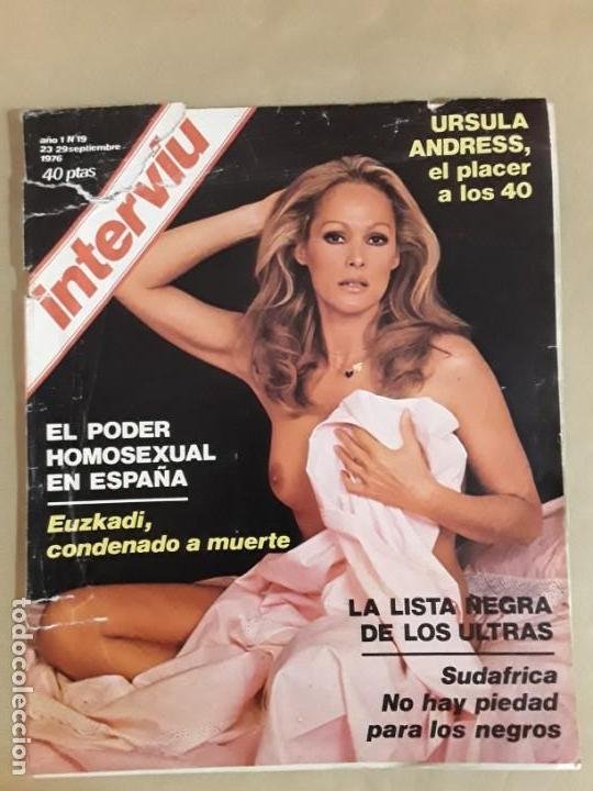Coleccionismo de Revista Interviú: Lote revistas interviú,n°3,5,6,8,9,10,12,13,14,15,16,19,20,21,26,28,31,34,36,38,año 1976/1977 - Foto 11 - 153527282