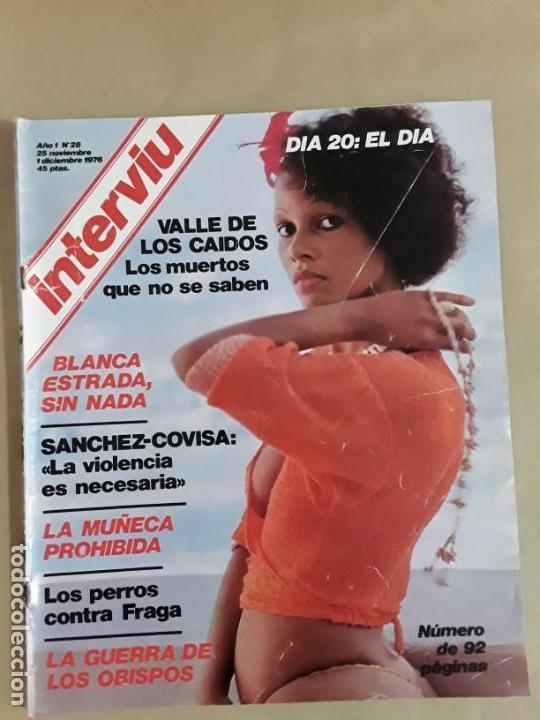 Coleccionismo de Revista Interviú: Lote revistas interviú,n°3,5,6,8,9,10,12,13,14,15,16,19,20,21,26,28,31,34,36,38,año 1976/1977 - Foto 15 - 153527282