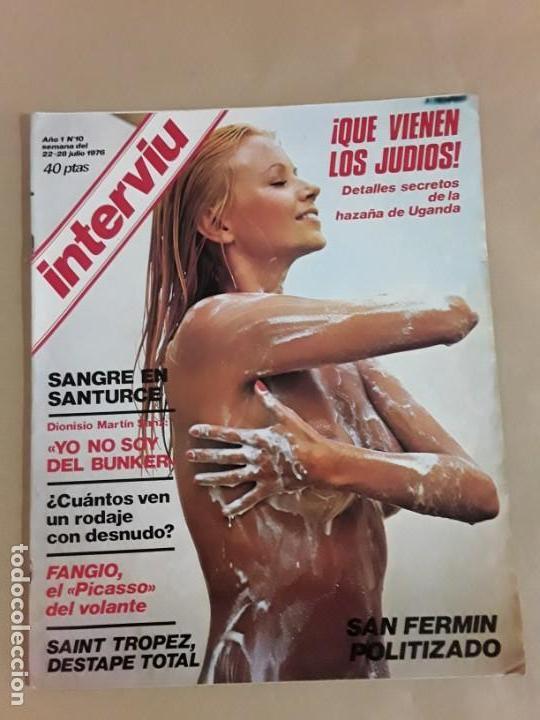 Coleccionismo de Revista Interviú: Lote revistas interviú,n°3,5,6,8,9,10,12,13,14,15,16,19,20,21,26,28,31,34,36,38,año 1976/1977 - Foto 19 - 153527282
