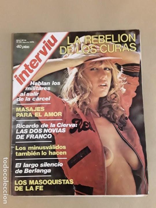 Coleccionismo de Revista Interviú: Lote revistas interviú,n°3,5,6,8,9,10,12,13,14,15,16,19,20,21,26,28,31,34,36,38,año 1976/1977 - Foto 21 - 153527282