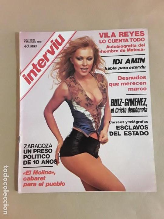 Coleccionismo de Revista Interviú: Lote revistas interviú,n°3,5,6,8,9,10,12,13,14,15,16,19,20,21,26,28,31,34,36,38,año 1976/1977 - Foto 22 - 153527282