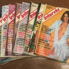 Coleccionismo de Revista Interviú: LOTE INTERVIU AÑO 1977 11 EJEMPLARES Nº 47-48-49-72-74-75-77-79-81-82-83.. Lote 153871422