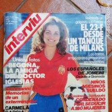 Coleccionismo de Revista Interviú: ANTIGUA REVISTA INTERVIU AÑO 7 NUMERO 305 1982 17 23 MARZO AÑADE SUPLEMENTO. Lote 154550450