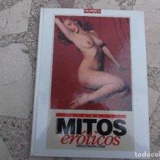 Coleccionismo de Revista Interviú: MITOS EROTICOS DEL CINE DE INTERVIU Nº 1 AL 20, ENCUADERNADOS,VER FOTOS. Lote 155103646