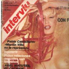 Colecionismo da Revista Interviú: INTERVIU. Nº 71. 28 SEPTIEMBRE 1977. (ST/MG.B). Lote 155155138