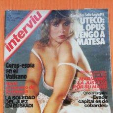 Coleccionismo de Revista Interviú: INTERVIÚ Nº 341. LINDA BLAIR (PORTADA), UN CUERPO DE MIL DEMONIOS. NOVIEMBRE 1982. Lote 265460594