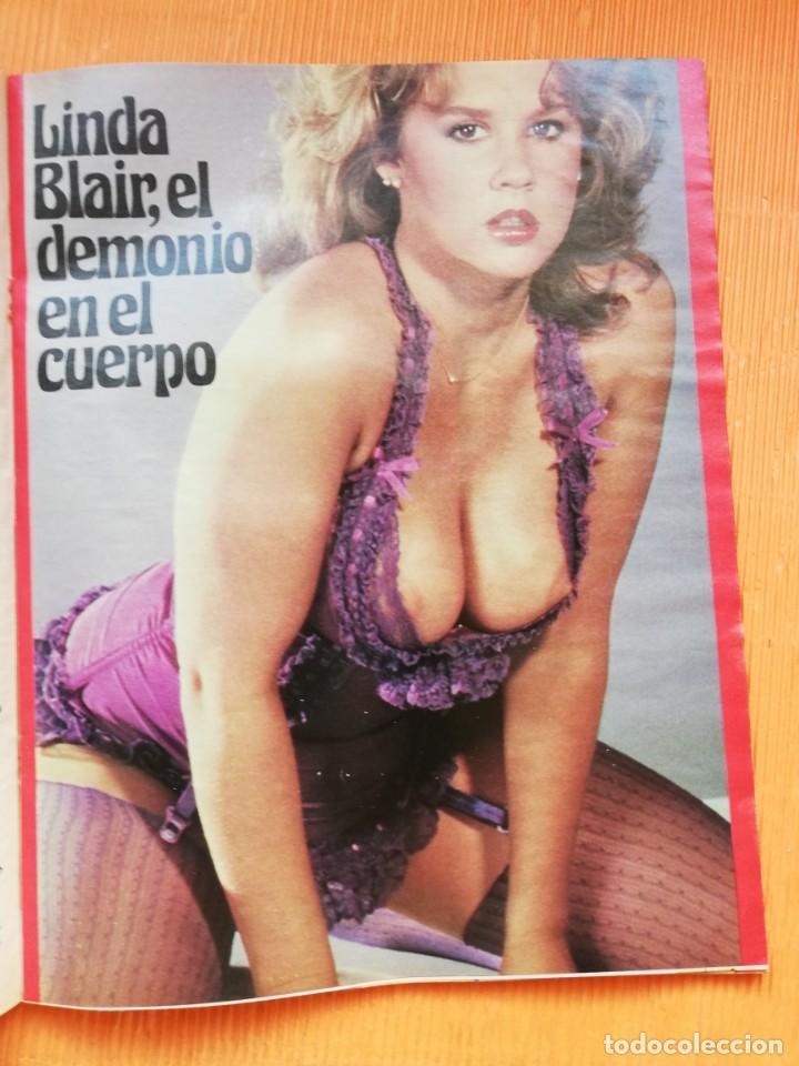 Coleccionismo de Revista Interviú: INTERVIÚ Nº 341. LINDA BLAIR (PORTADA), UN CUERPO DE MIL DEMONIOS. NOVIEMBRE 1982 - Foto 3 - 265460594