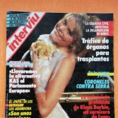 Coleccionismo de Revista Interviú: INTERVIÚ Nº 574. MARIEL HEMINGWAY(PORTADA) AMÉRIKA, DESNUDA. Lote 240452050