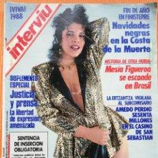 Colecionismo da Revista Interviú: INTERVIÚ Nº 607. MARIBEL VERDÚ (PORTADA) PRESENTA LOS 12 DESNUDOS DEL 87. Lote 155667838