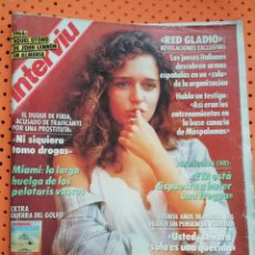 Coleccionismo de Revista Interviú: INTERVIÚ Nº 761 VALERIA GOLINO (PORTADA) DESNUDA, PROTAGONISTA DE HISTORIA DE AMOR, EN TVE. Lote 155846162