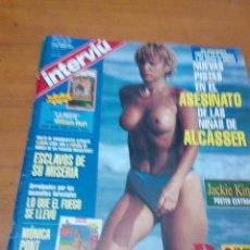 Coleccionismo de Revista Interviú: REVISTA INTERVIÚ. 1058. PORTADA PALOMA MARIN. POSTER CENTRAL. JACKIE KING. B11R. Lote 157061310