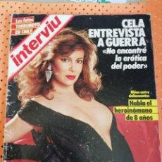 Coleccionismo de Revista Interviú: INTERVIÚ Nº 461. ANA OBREGÓN (PORTADA) DESNUDA. Lote 157275230
