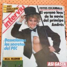 Coleccionismo de Revista Interviú: INTERVIÚ Nº 518. REAL MADRID, CAMPEÓN DE LIGA 85-86. Lote 157283386