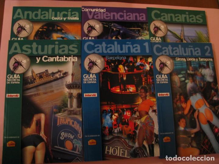 Coleccionismo de Revista Interviú: GUÍA SECRETA DE ESPAÑA. POR INTERVIU. TODOS LOS PLACERES EN 8000 DIRECCIONES. 14 LIBRETAS - Foto 2 - 157435386