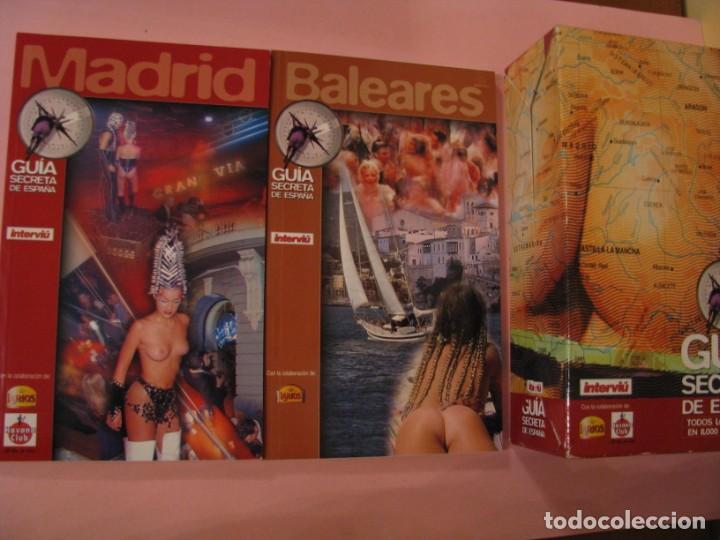 Coleccionismo de Revista Interviú: GUÍA SECRETA DE ESPAÑA. POR INTERVIU. TODOS LOS PLACERES EN 8000 DIRECCIONES. 14 LIBRETAS - Foto 3 - 157435386